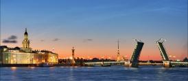 Приказните бели нощи на Санкт Петербург- Вариант 8 дни